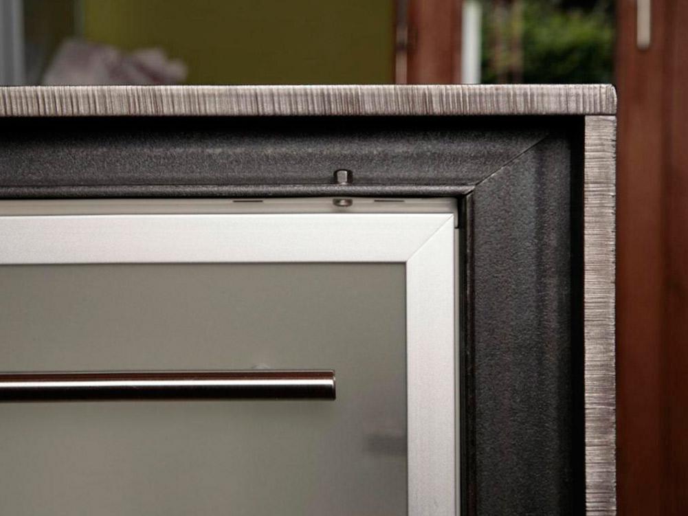 k chenm bel gestahlter gmbh. Black Bedroom Furniture Sets. Home Design Ideas